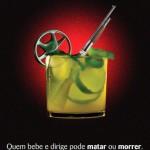 Campanha de conscientização sobre álcool e direção