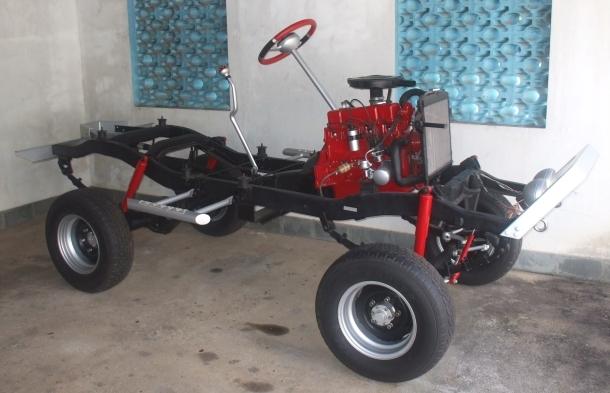 Reforma de Jeep Willys CJ5