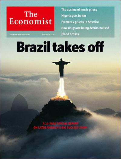 Brasil - Foguete Decola