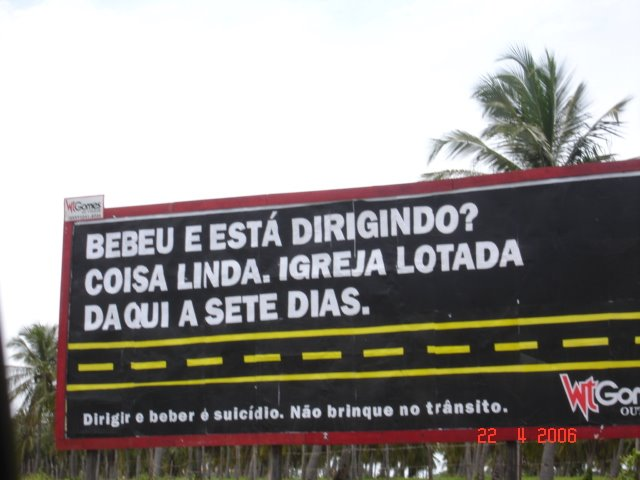 Campanha Bebida Automóvel