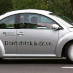 Uma campanha criativa contra a mistura de álcool e direção