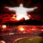 Flamengo campeão com a bênção do Cristo Redentor