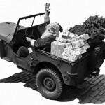 Um Papai Noel generoso com os jipeiros neste Natal