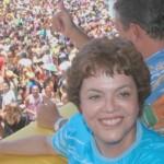 Em campanha, Dilma Rousseff no Galo da Madrugada