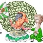 """Carnaval é sátira política: corrupto do DEM """"sambou"""""""