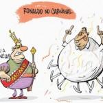 Ronaldo pratica concorrência desleal com o Rei Momo