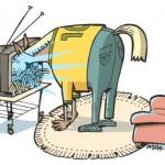 A televisão te deixa mais burro e te mata em capítulos