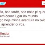 Twitter da Dilma estreia com milhares de seguidores