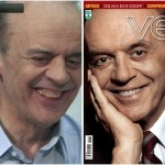 Sorriso de Serra na imprensa: realidade e ilusionismo