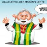 Lula, líder mais influente, domina a mídia estrangeira