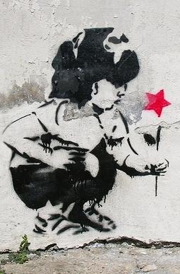 Menina colhendo estrela