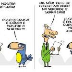 Velha mídia esconde a subida de Dilma nas pesquisas