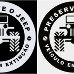 Frases engraçadas em adesivos de Jeeps e veículos off-road