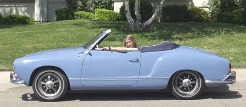 Karmann Ghia Azul