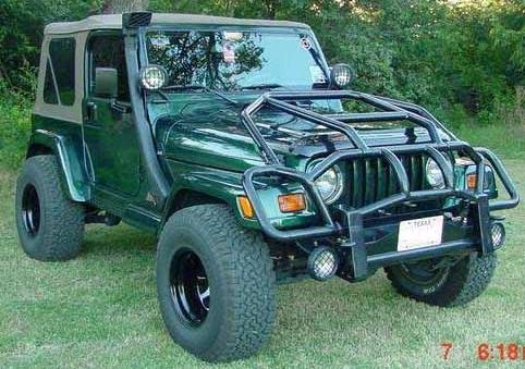 Quebra-mato especial para jeeps