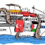 Protesto de Latuff ao ataque de Israel à Frota da Liberdade