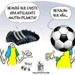 Torcedores alienados – vitória do futebol e derrota da inteligência