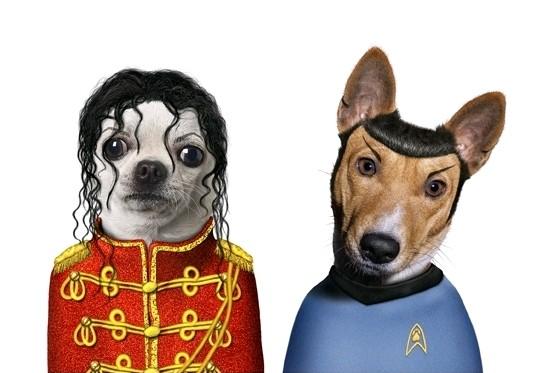 Cachorros - Michael Jackson e Spock