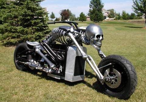 Chopper - esqueleto
