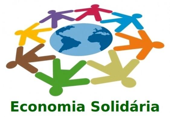 Economia Solidária - logomarca poster