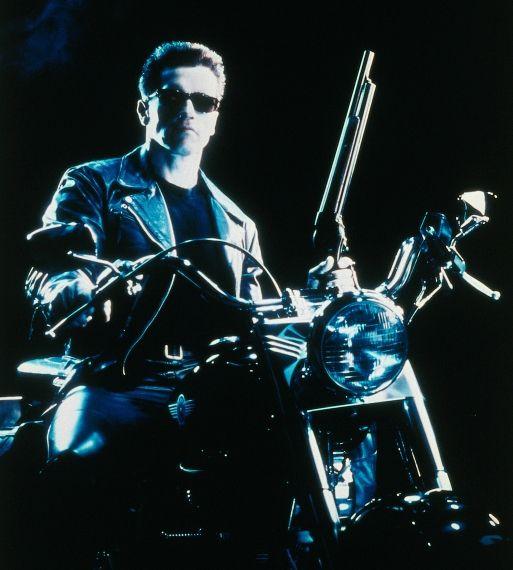Exterminador do Futuro 2 - Motocicleta