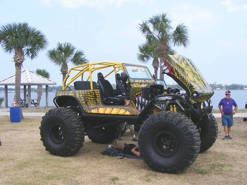 Jeep Zilla - descanso