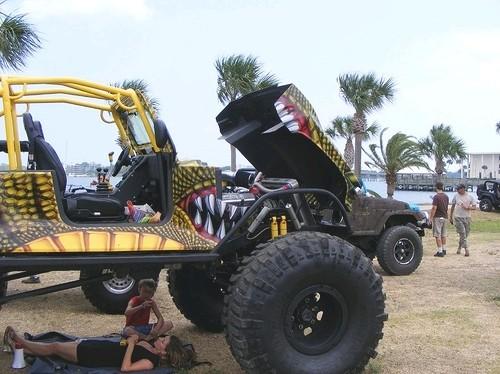 Jeep Zilla transformado