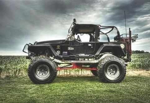 Jeep - acessórios para transformação