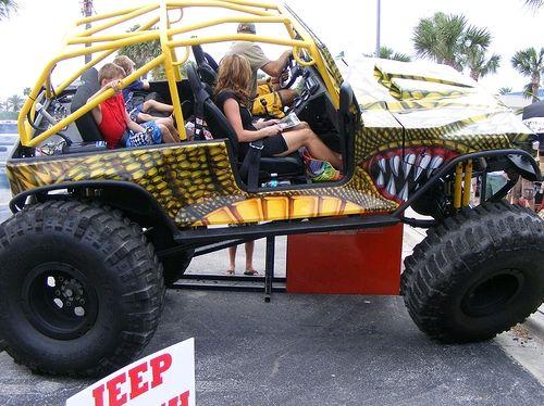 Jeepzilla exibição