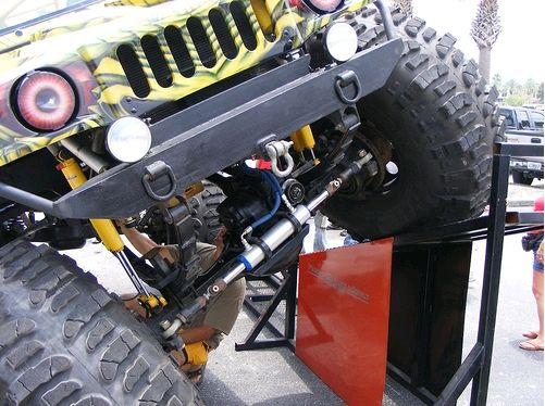 Jeepzilla - suspensão