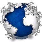 O mundo em miniatura reduzido a uma aldeia global
