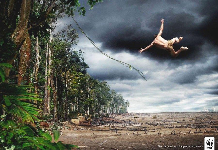 Tarzan e a devastação da Floresta Amazônica