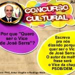 Concurso público para candidatos a vaga de vice do Serra