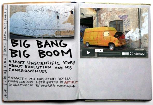 Big Bang Big Boom - Vídeo Blu