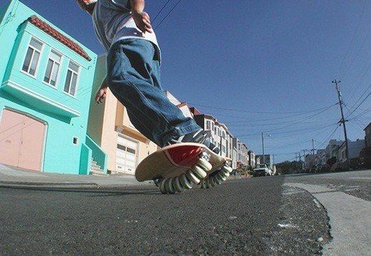 Flowboard - skate flowlab tipo snowboard
