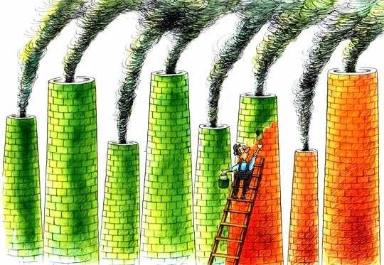 Greenwashing - lavagem verde