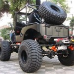 Jeep Willys CJ-3A – Black Edition V8: um esculacho!