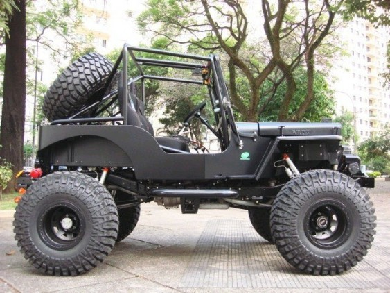 Jipe Willys CJ3A