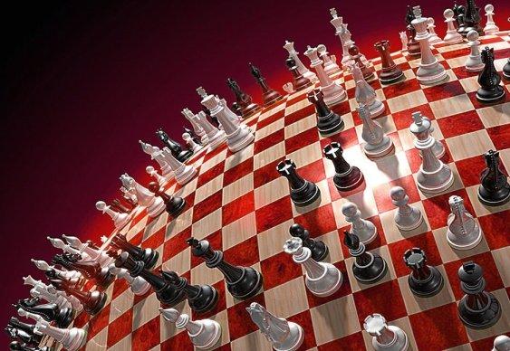 Jogo de Xadrez - wallpaper - papel de parede - tabuleiro - peças