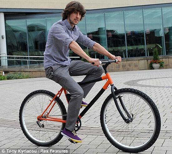 Kevin Scott - inventor e designer de bicicletas