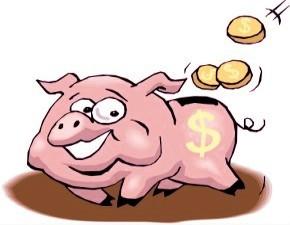 Porquinho - cofre para moedas