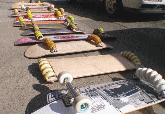 Skates flowboard estilo neve