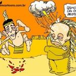 """Jovem índio """"quem"""" metido a pajé ferra cacique tucano"""