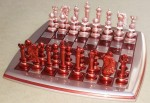 Como montar peças sobre o tabuleiro do jogo de xadrez