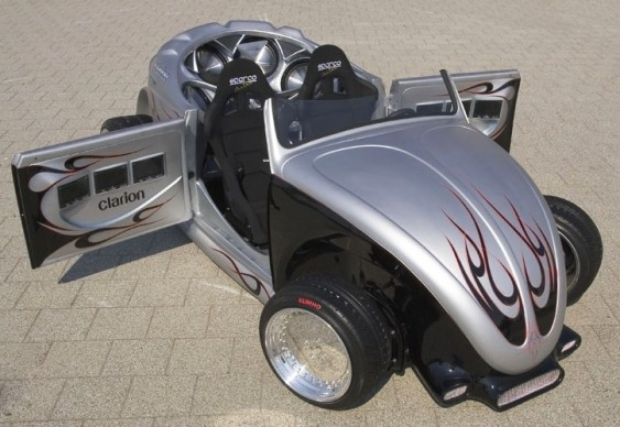 Fusca VW Tuning Hot Rod - Transformado