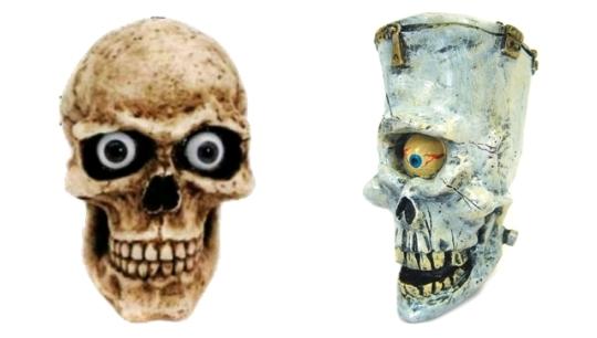 Gear shift knob skull