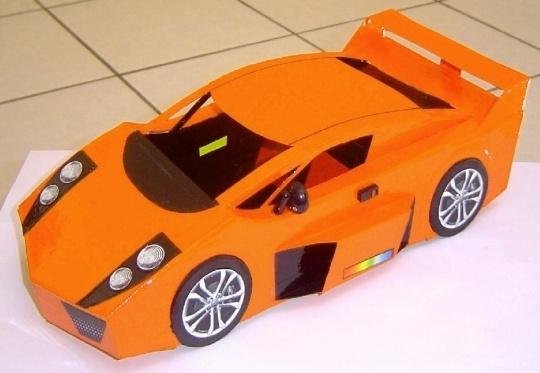 Miniaturas De Ferraris E Carros Esportivos De Lixo