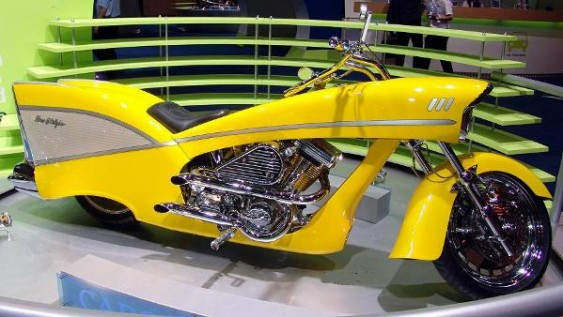 Moto Custom Chevy 1957