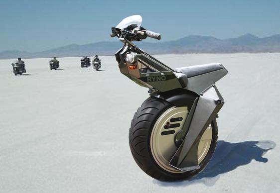 Ryno - a moto de uma roda só