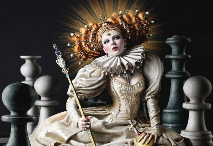 Papel de parede sobre Xadrez - Elizabeth I, a Rainha Virgem